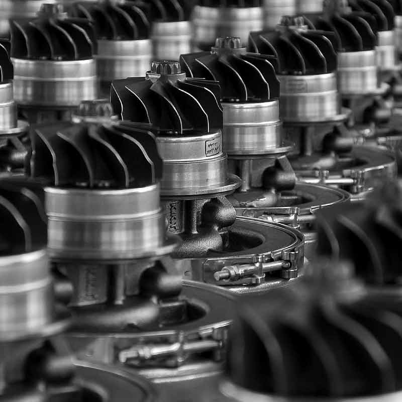 KKT Turbochargers Production Line